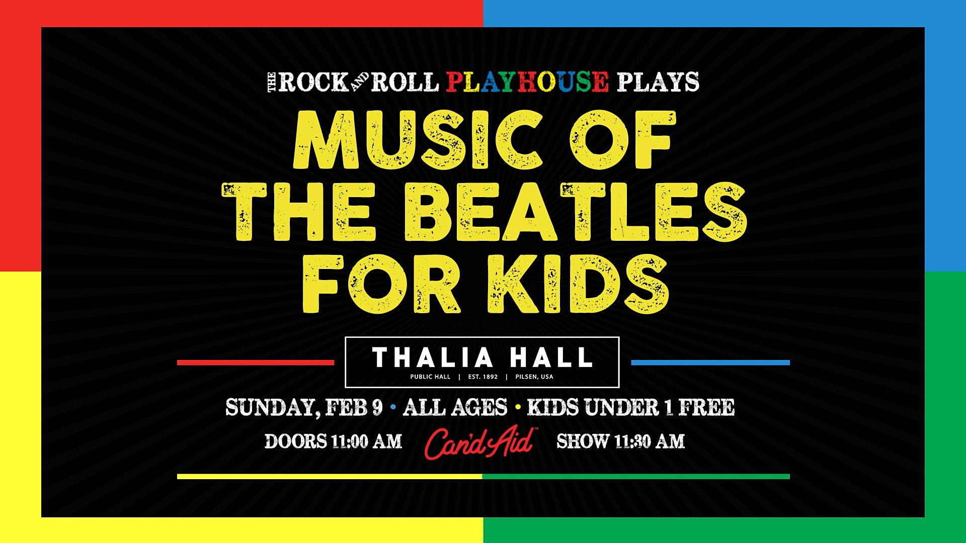 The Rock and Roll Playhouse presents The Music of The Beatles for Kids
