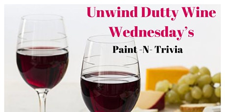 Unwind Dutty Wine Wednesday's tickets