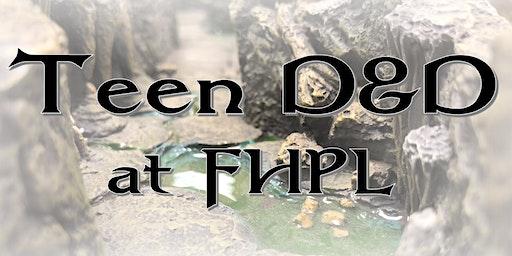 Teen D&D at FHPL