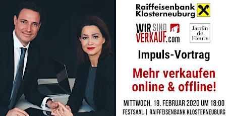 Impuls-Vortrag: Mehr verkaufen - online & offline! Tickets