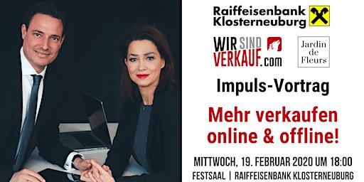 Impuls-Vortrag: Mehr verkaufen - online & offline!