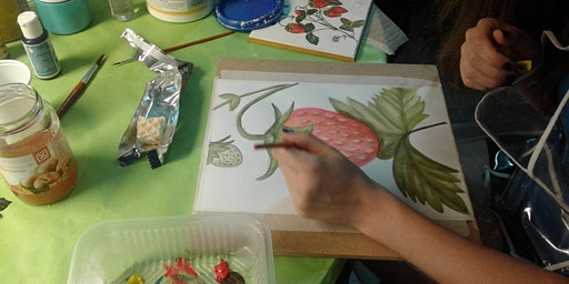 Curso de dibujo y pintura en Verano en Once