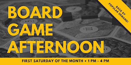 Board Game Afternoon tickets