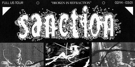 Sanction (Broken In Refraction) Vancouver tickets