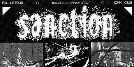 Sanction (Broken In Refraction) Vancouver tickets