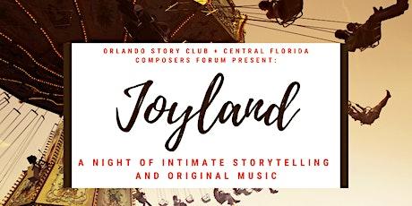 Joyland: A night of intimate storytelling and original music tickets