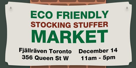 Eco-Friendly Stocking Stuffer Pop-Up Market tickets