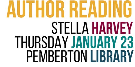Author Reading : Stella Harvey tickets