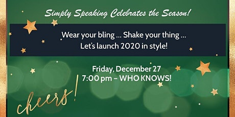 Simply Speaking Holiday Party! tickets