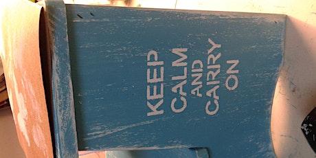Curso de reciclado de muebles en Verano en Once entradas