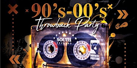 90'S vs 00's Throw back Party tickets
