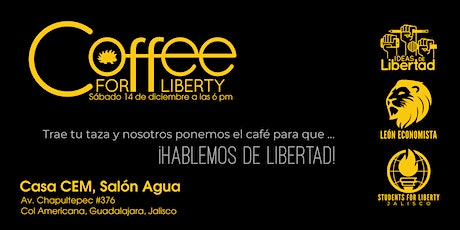 Coffee for Liberty tickets