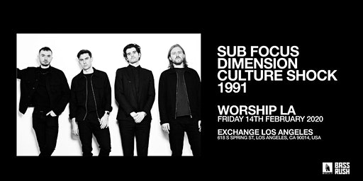 Sub focus, Dimension, Culture Shock, 1991
