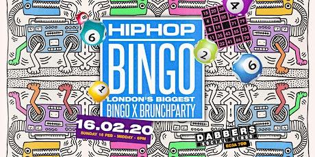 Hip Hop Bingo - London's Biggest Brunch Party tickets