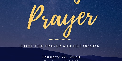 Drive Thru Prayer!