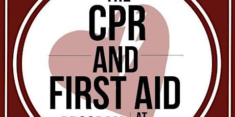 AHA Heartsaver CPR/AED Courses - Ackerman VPC tickets