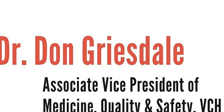 VPSA- Breakfast with Dr. Donald Griesdale tickets