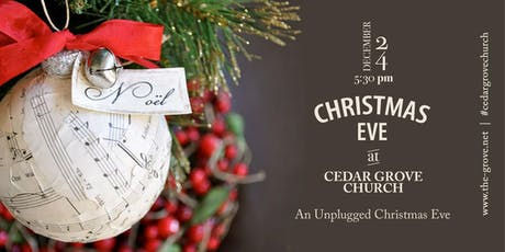 Unplugged Christmas Eve at The Grove tickets