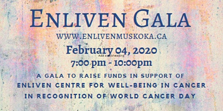 World Cancer Day GALA tickets