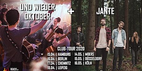 Jante + Und Wieder Oktober | Hamburg Tickets