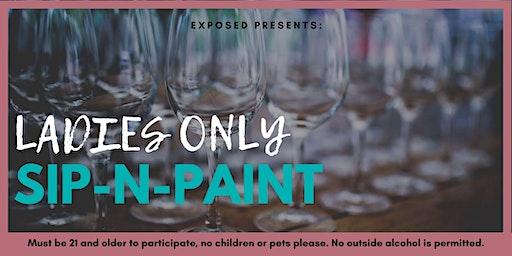 Ladies Only: Sip-N-Paint