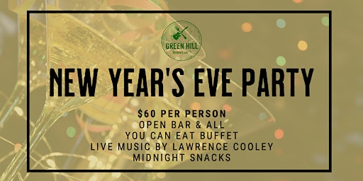 New Year's Eve at Green Hill Kitchen & 'Cue