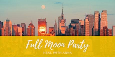 Women's Full Moon Party ONLINE tickets