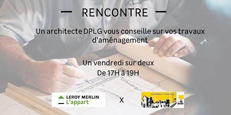 Un architecte DPLG vous conseille sur vos travaux d'aménagement billets
