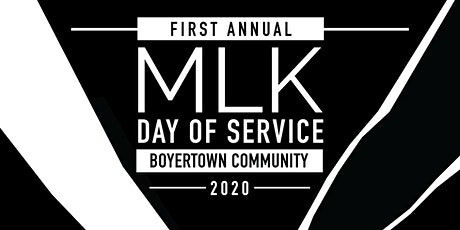 Boyertown Community Martin Luther King Jr Day of Service tickets