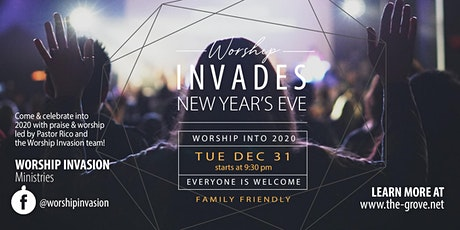 Worship Invades New Year's Eve tickets