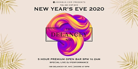 The Delancey New Years Eve 2020 Party tickets