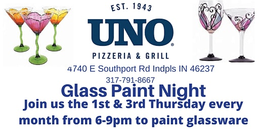 Glass Paint Night