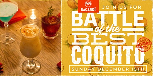 Coquito Wars: Battle of the Best Coquito (Coquito for a Cause)