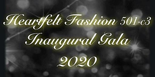 Heartfelt Fashion 501(c)3 Inaugural Gala 2020