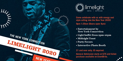 Limelight 2020 Featuring the New York Connection