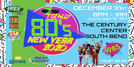 Totally 80's New Year's Party tickets