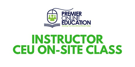 Teaching with Technology for Instructors (ONSITE/VIRTUAL) tickets