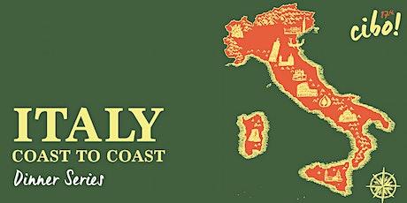 Italy Coast to Coast - Dinner Series tickets