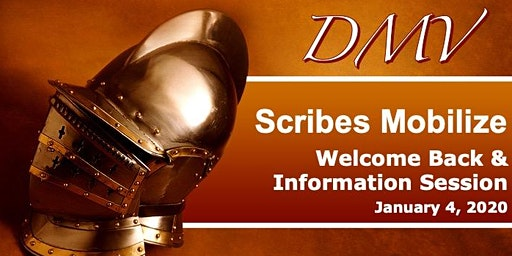 DMV Scribes Mobilize - Welcome Back & Information Session