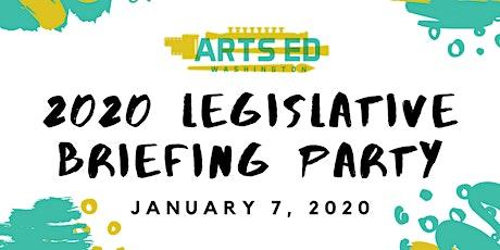 ArtsEd Washington's 2020 Legislative Briefing Party tickets