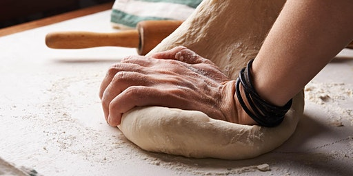 Working with Dough: Pizza, Cinnamon Rolls and Bread