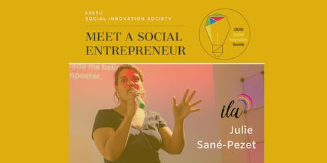 Meet a Social Entrepreneur: A journey from LSE to becoming a founder tickets