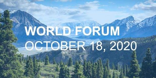 Annual World Forum: October 18, 2020