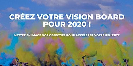 Créez votre vision board pour 2020 ! tickets