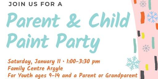 Parent & Child Paint Party