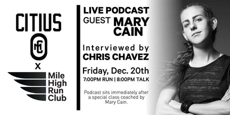 Citius Mag Podcast LIVE: Hosted by Mile High Run Club tickets