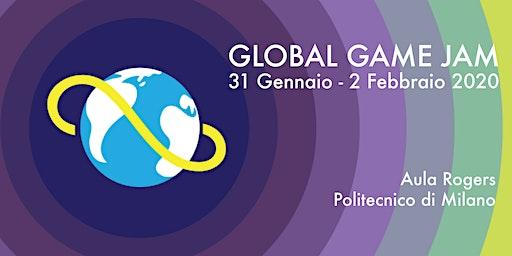 Global Game Jam @ POLIMI - 31 Gennaio - 2 Febbraio 2020