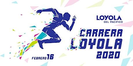 Carrera Loyola 2020 boletos