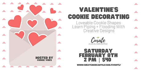Valentine's Cookie Decorating tickets
