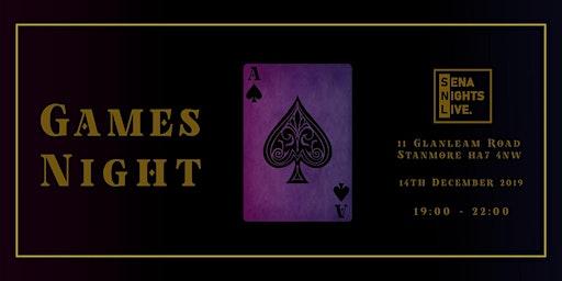 SENA NIGHTS LIVE_GAMES NIGHT